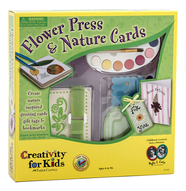 Flower Press & Nature Cards <br>VBS 2018