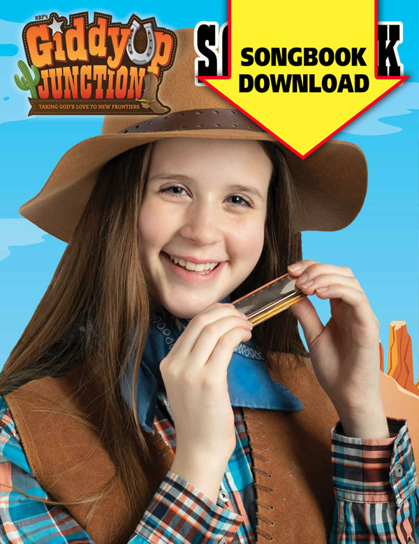 Giddyup Junction Songbook <br>VBS 2019 - Digital Version