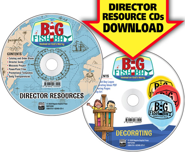 Big Fish Bay Director Resource Download<br>VBS 2020