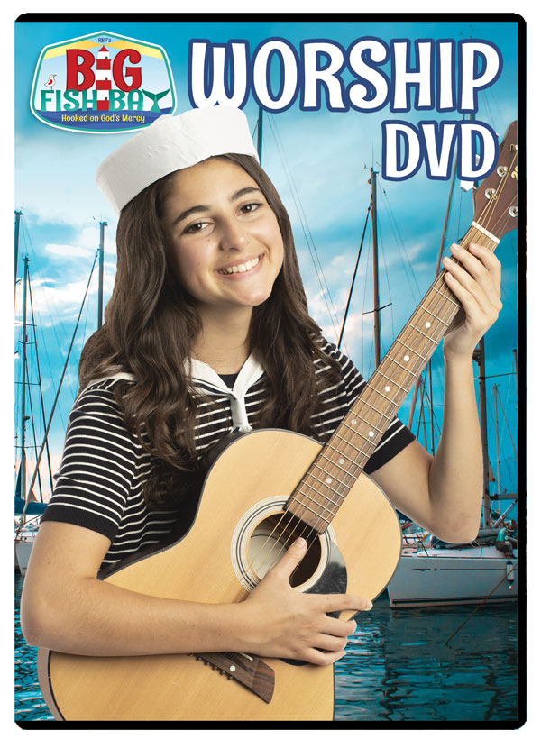 Big Fish Bay Worship DVD <br>VBS 2020