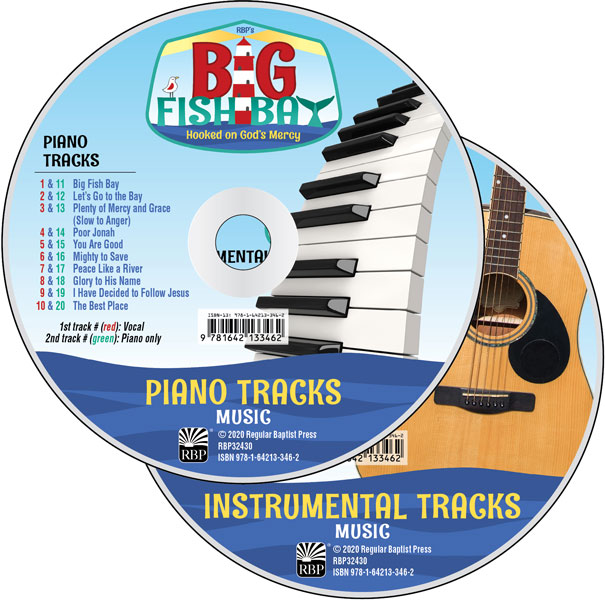 Big Fish Bay Music CD Set<br>VBS 2020