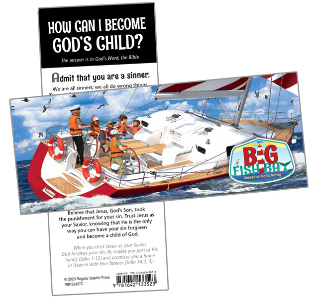 Gospel Bookmark<br>VBS 2020