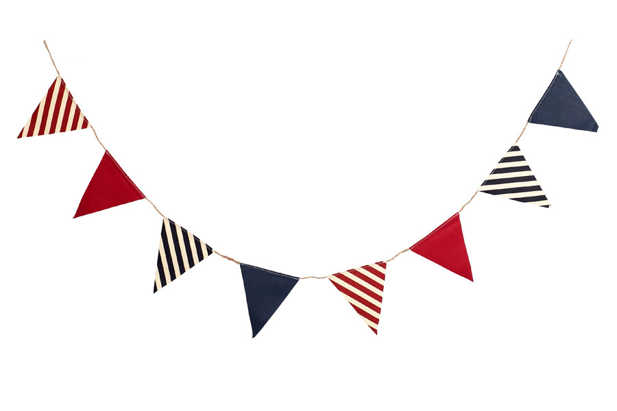 Nautical Canvas Pennant Banner <br>VBS 2020