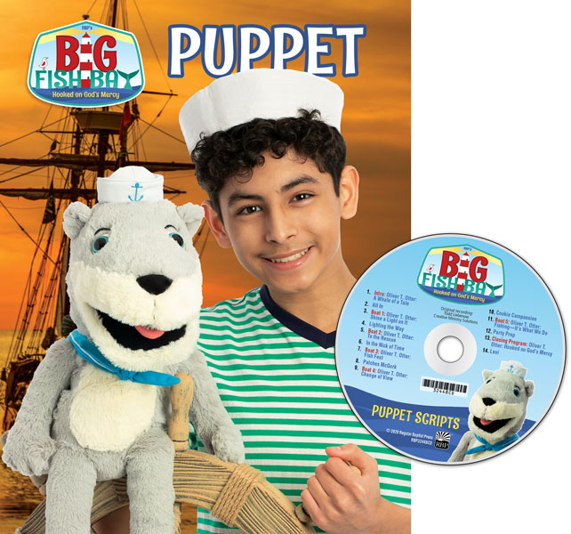Puppet Scripts & CD (Dialogue only)<br>VBS 2020