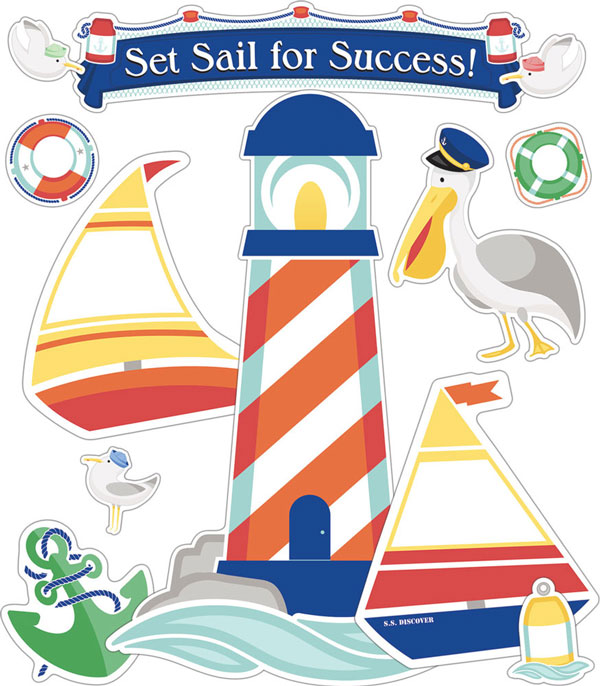 Set Sail Bulletin Board Set<br>VBS 2020