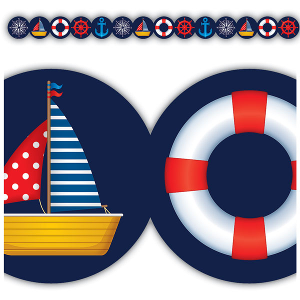 Set Sail Border<br>VBS 2020