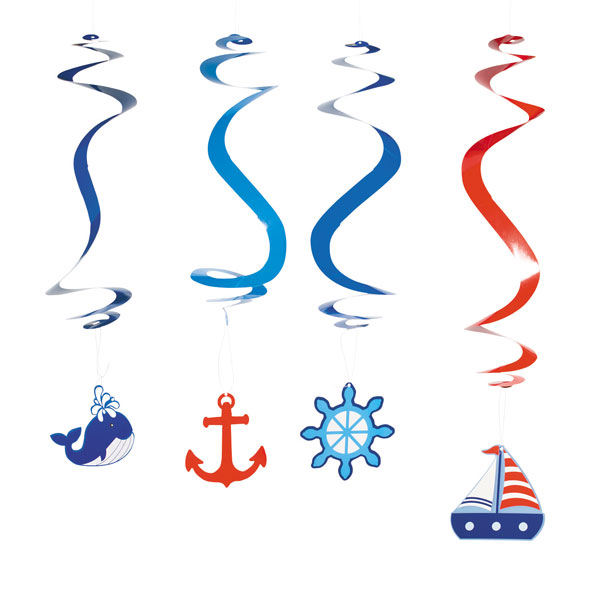 Big Fish Bay Nautical Whirls<br>VBS 2020
