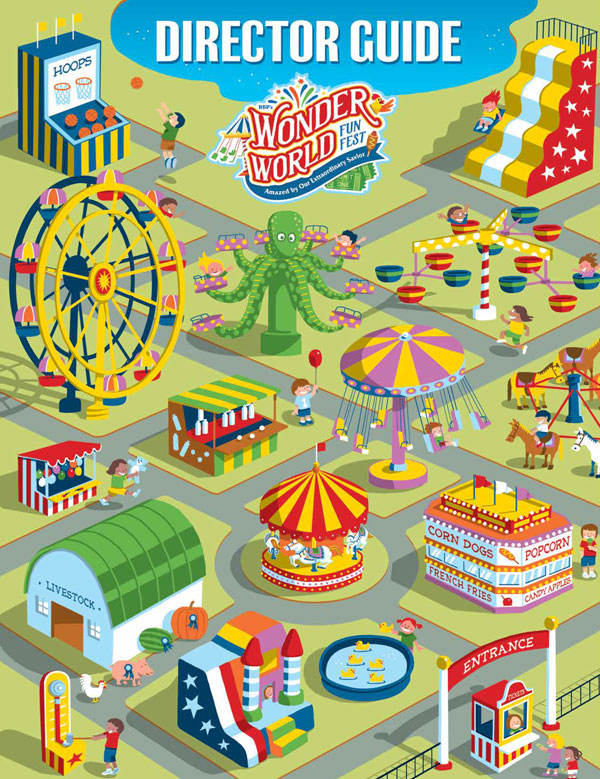 Wonder World Funfest Director Guide<br>VBS 2021