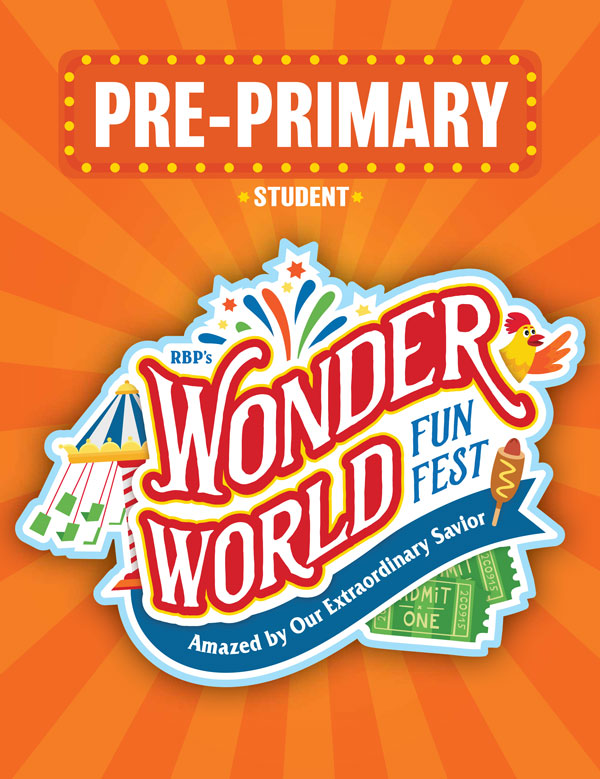 Pre-Primary Student Activity Sheets<br>VBS 2021 - KJV