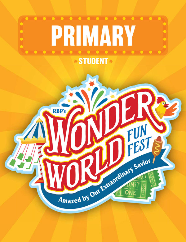 Primary Student Activity Sheets<br>VBS 2021 - KJV