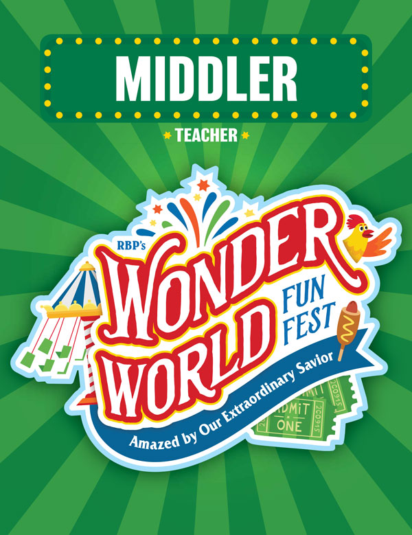 Middler Teacher Book<br>VBS 2021 - KJV