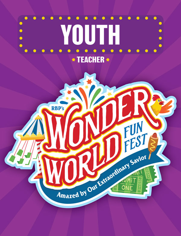Youth Teacher Book<br>VBS 2021 - NKJV