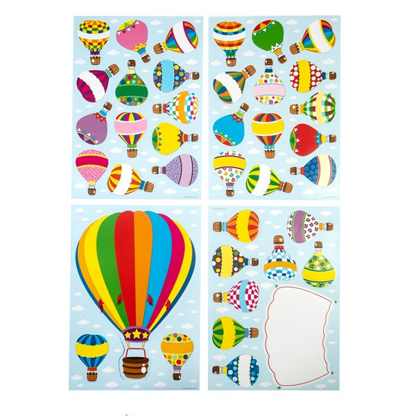 Flying Circus Balloon Bulletin Board Set <br>VBS 2021
