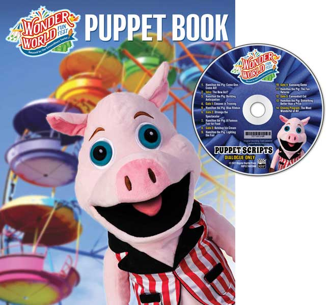 Puppet Scripts & CD (Dialogue only) <br>VBS 2021