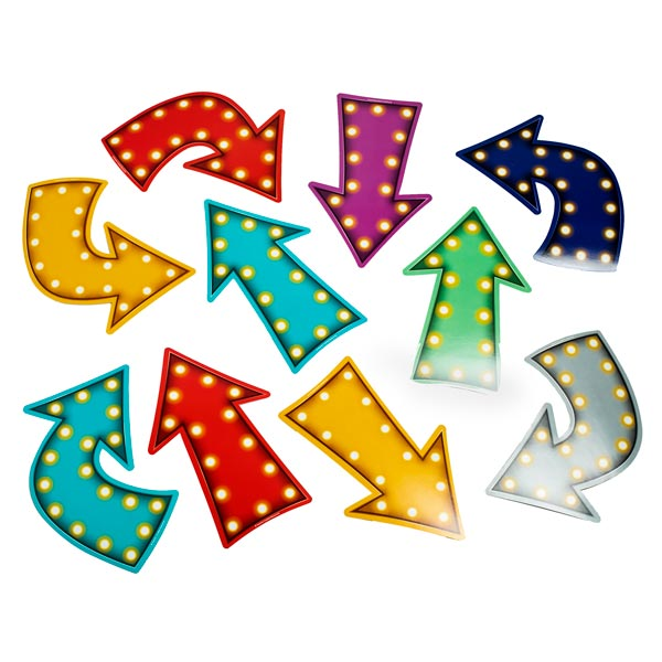 Midway Lights Arrow Cutouts <br>VBS 2021
