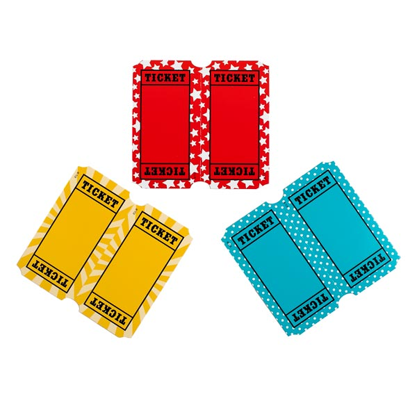 Mini Ticket Cutouts <br>VBS 2021