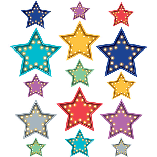 Midway Lights Star Cutouts <br>VBS 2021