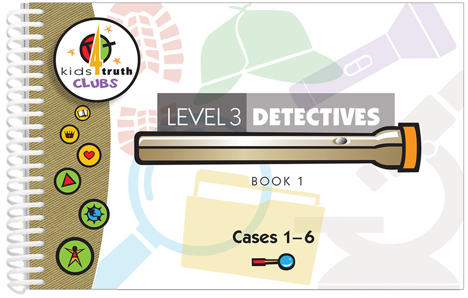 Detectives TruthBook <br>Level 3 Book 1 – KJV