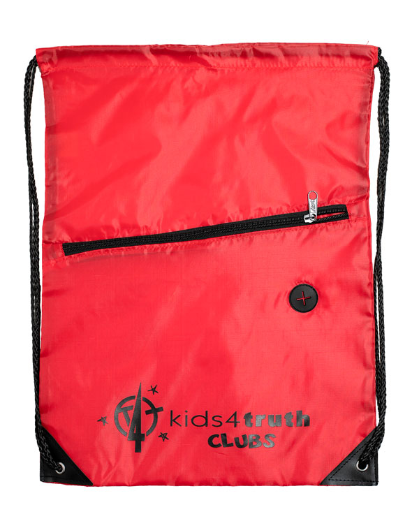 Cinch Bag – Red