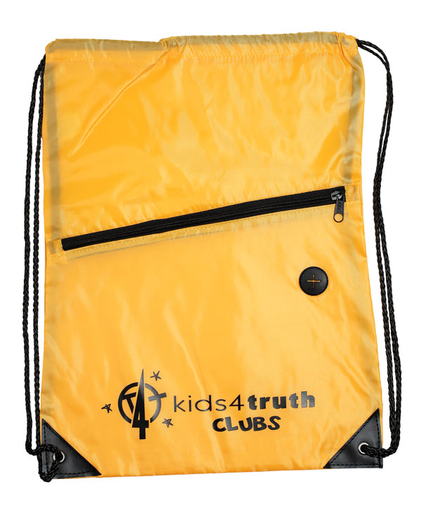 Cinch Bag – Yellow