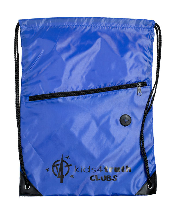 Cinch Bag – Blue