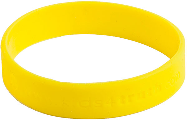 Silicone Bracelets – Yellow