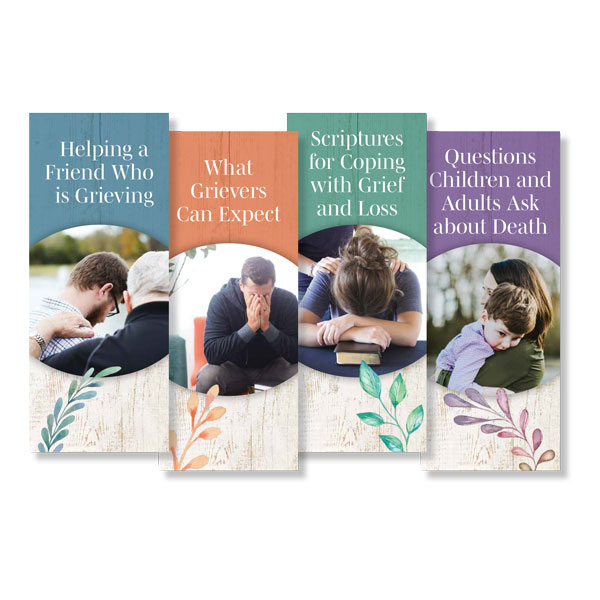 Set of 4 Booklets on Grief