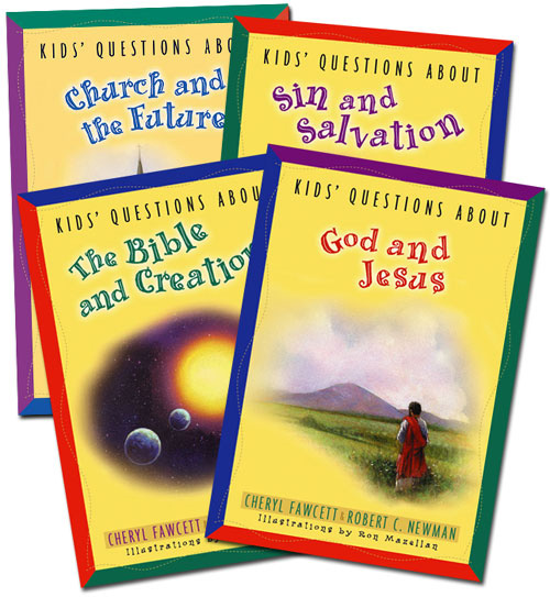 Kids' Questions Set of 4 Books