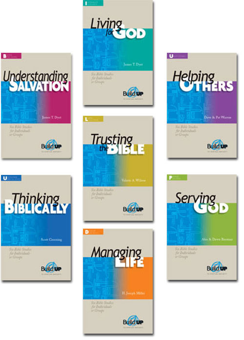 BuildUP Bible Studies #1 Set (Set of 7)