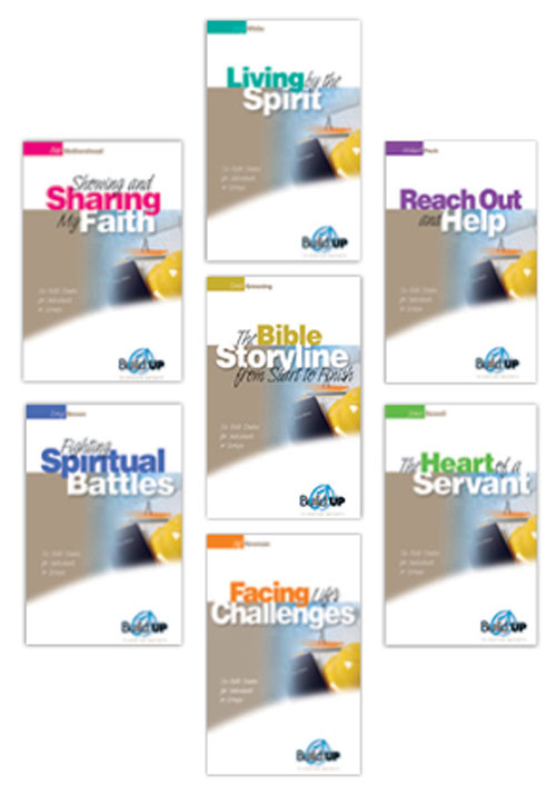 BuildUP Bible Studies #2 Set (Set of 7)