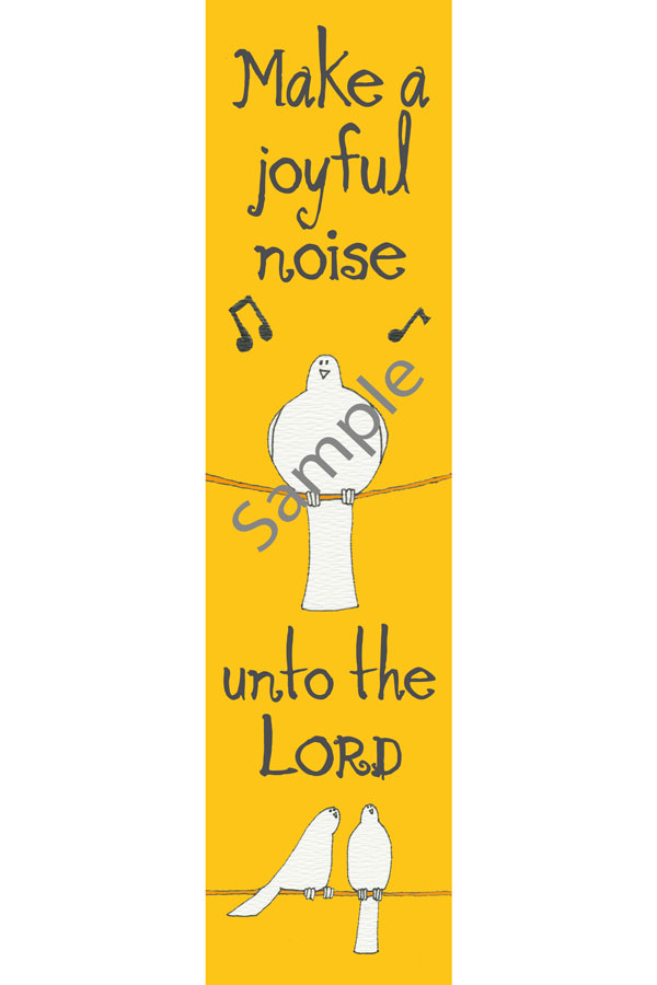 Bookmark - Psalm 100/Kids