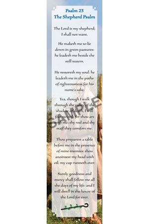 Bookmark - Psalm 23
