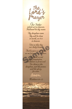 Bookmark - The Lord's Prayer