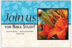 Postcard - Join Us for Bible Study/Women's
