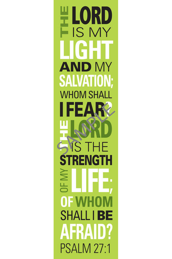 Bookmark - Psalm 27:1