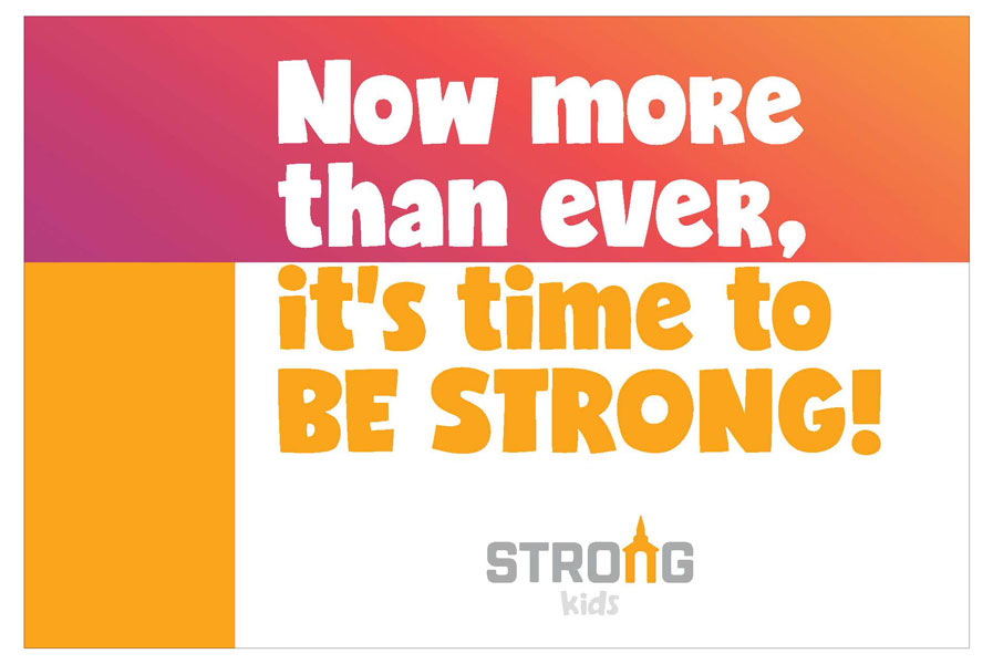 Strong Kids Welcome Postcards<br>General