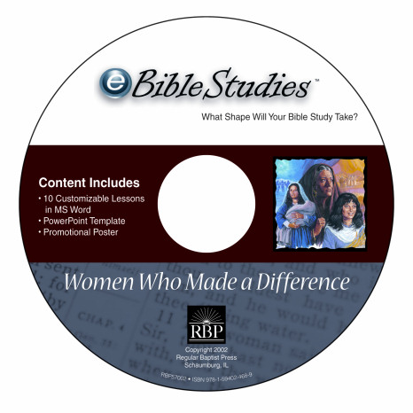 Women Who Made A Difference <br>eBible Studies <br>Download