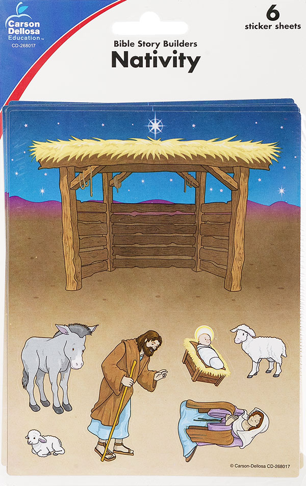 Bible Scene Builders <br>Nativity
