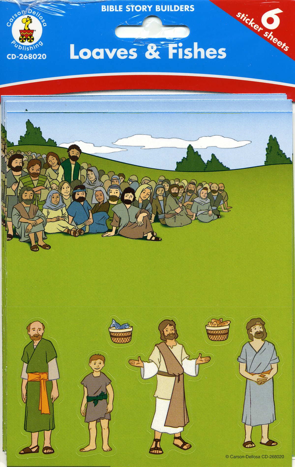 Bible Scene Builders <br>Loaves & Fishes