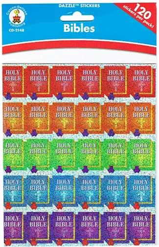 Bibles Dazzle™ Stickers