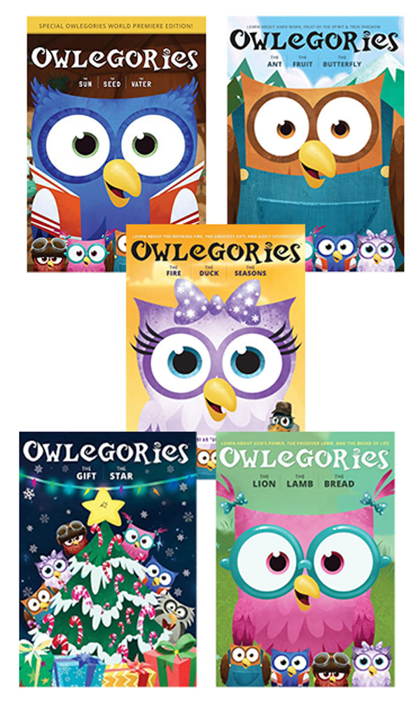 Owlegories DVD Set