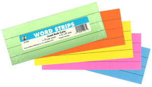 Word Strips - Multicolored