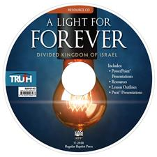 A Light for Forever: The Divided Kingdom of Israel <br>Adult Resource CD