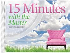 15 Minutes with the Master <br>365-Day Devotional Journal